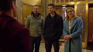 Kara, Oliver e Barry conhecem Kate Kane - DUBLADO (Português-BR) HD | Elseworlds