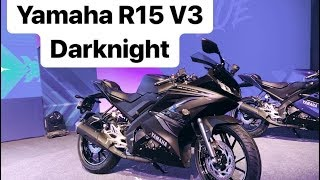 Yamaha R15 v3 0 dealer special edition jet-black paint job with gold