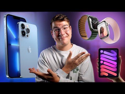 Erster Eindruck: iPhone 13 (Pro), Apple Watch 7 & iPad mini!