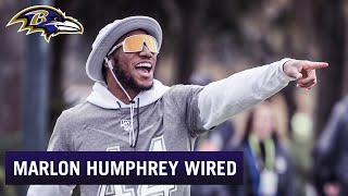 Marlon Humphrey Mic'd Up at the Pro Bowl   Baltimore Ravens Wired