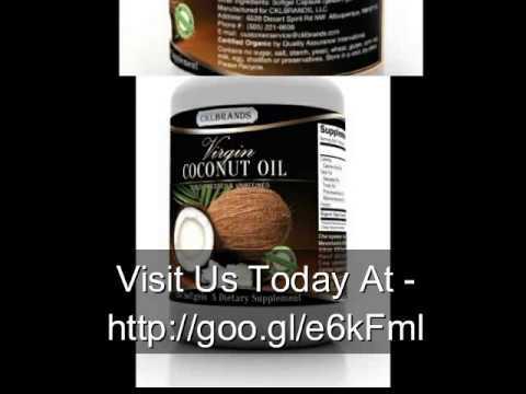 Premium Coconut Oil Capsules