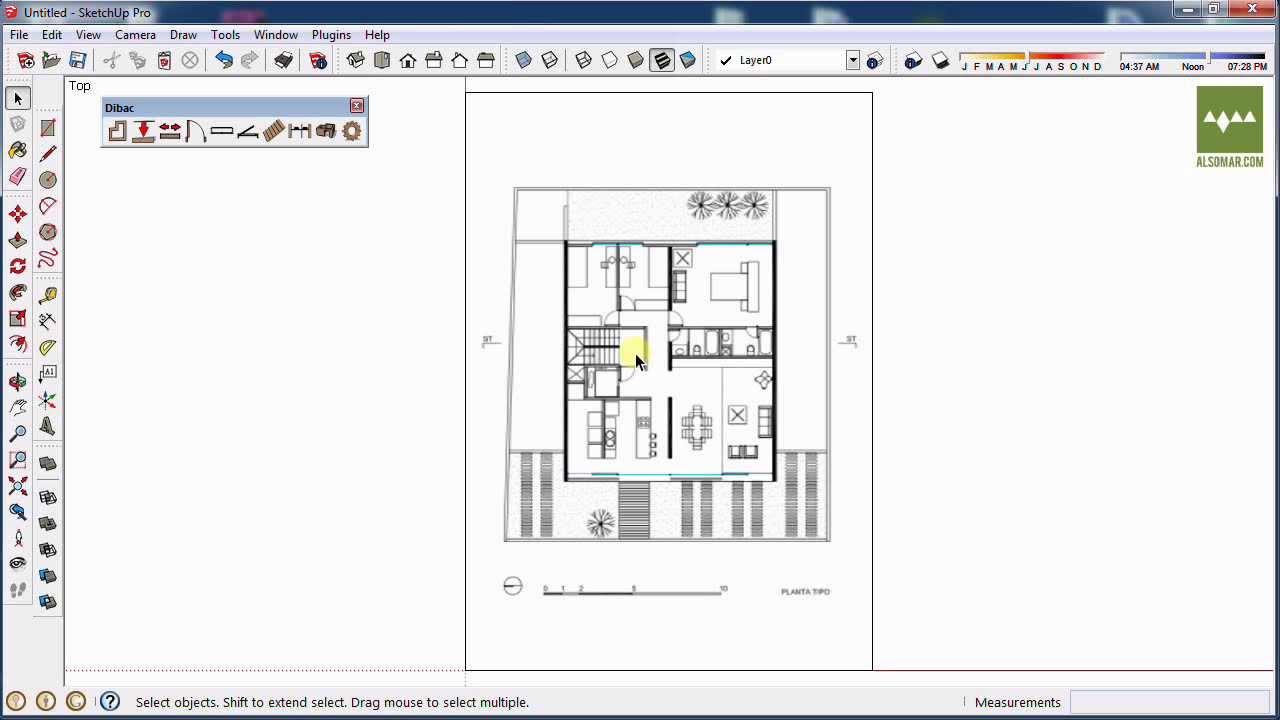 Dibac for sketchup (PLUGIN) - Identi