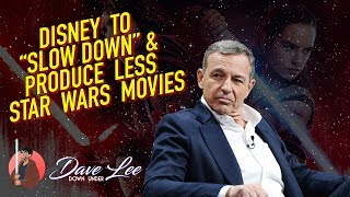 LESS STAR WARS MOVIES as Disney Slows Down Production - A Good Idea?