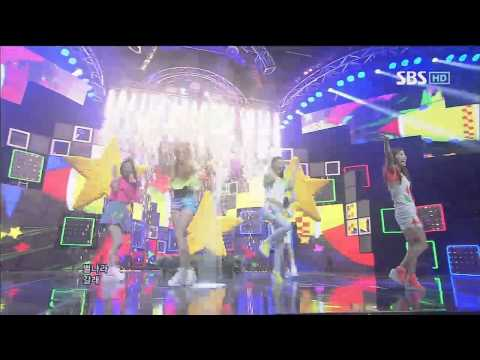 f(x) [제트별(Jet)/ Electric Shock] @SBS Inkigayo 인기가요 20120617