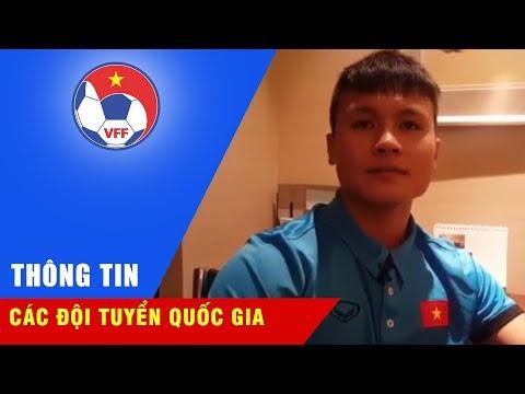 VIDEO: CĐV và các 'người hùng' U23 Việt Nam hát vang ca khúc 'Như có Bác Hồ trong ngày vui đại thắng' trên đất Trung Quốc