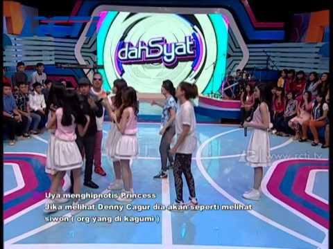 Uya Menghipnotis Girl Band Princess - dahSyat 19 Mei 2014