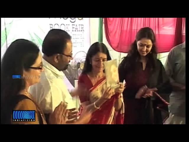 Manju Warrier released her book Sallapam