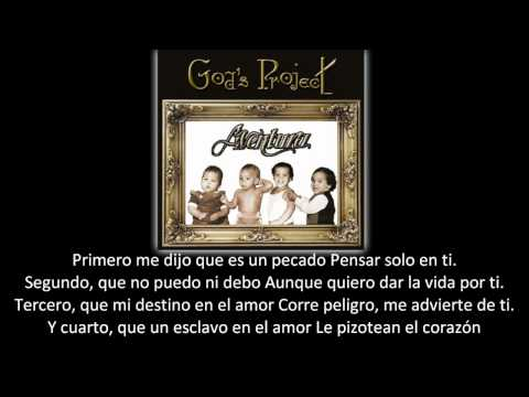 Aventura - Angelito (lyric - letra)