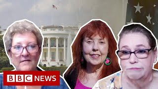 US election: Are white women voters wavering on Trump? - BBC News