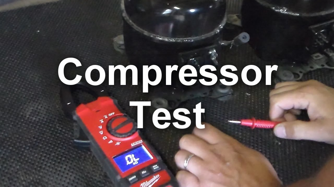 How To Test The Compressor On Your Refrigerator Youtube