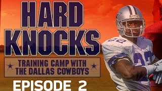 Rookie Fights Break Out & First Scrimmage Game | '02 Cowboys Hard Knocks Episode 2 | NFL Vault