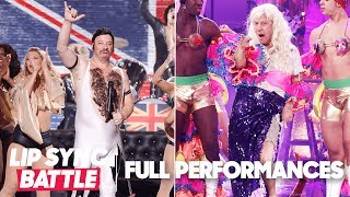 "Jeff Ross' ""Fat Bottomed Girls"" vs. Rob Schneider's ""I Will Survive"" 