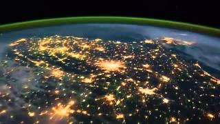 Trái Đất Đẹp Vào Ban Đêm Nhìn Từ Trạm Vũ Trụ Quốc Tế ISS | Earth From Space