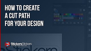 How To Create A Cut Path For Your Design