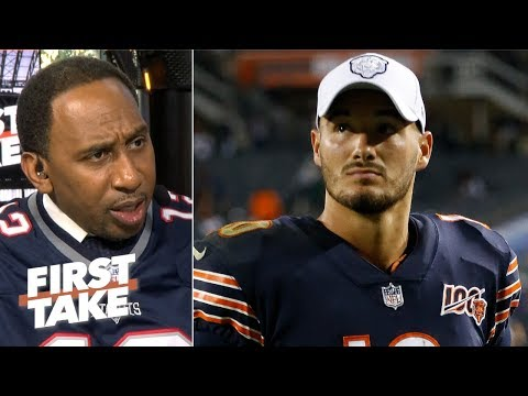 Bears loss is a big deal for Mitchell Trubisky – Stephen A. | First Take