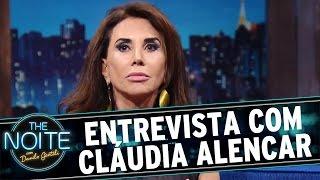 The Noite (18/04/16) - Entrevista com Cláudia Alencar