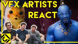 VFX Artists React to Bad & Great CGi 2
