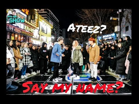 [KPOP IN PUBLIC] dance cover on ATEEZ (에이티즈) - Say My Name by Alina (AF Starz show)