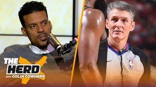 Matt Barnes calls Scott Foster a 'terrible' referee, talks Rockets-Lakers & Kyrie | NBA | THE HERD