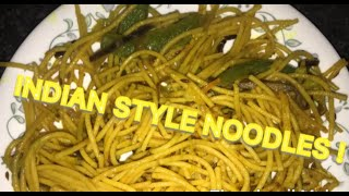 How To Make Simple, Fast And Delicious Veggie Noodles! Indian Style!