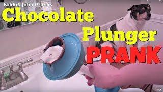 Chocolate Plunger Prank On Girlfriend