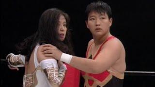 Cuty Suzuki & Chigusa Nagayo vs Devil Masami & Plum Mariko (Clipped)