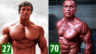 Arnold Schwarzenegger - Transformation From 1 To 70 Years Old