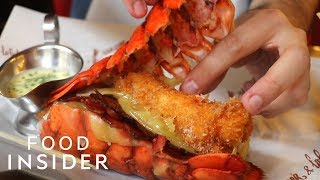 Burger Has Fried Lobster Tails For Buns Costs $62
