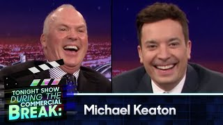 During Commercial Break: Michael Keaton