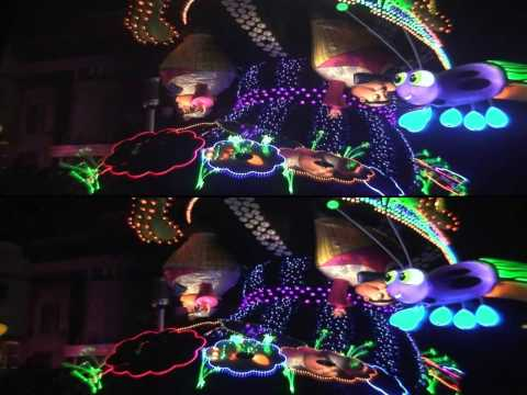 3D Magical Starlight Parade at USJ (YouTube3D HD Test)