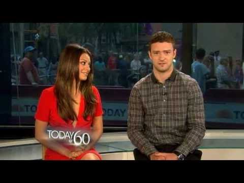 Baixar Justin Timberlake & Mila Kunis - Happy 60th anniversary wishes to the TV TODAY