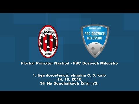 dorostenci, 1.liga, Náchod - Milevsko