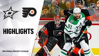 NHL Highlights | Stars @ Flyers 10/19/19