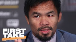 Max Kellerman: Manny Pacquiao Should Have Retired 'Years Ago' | First Take | June 30, 2017