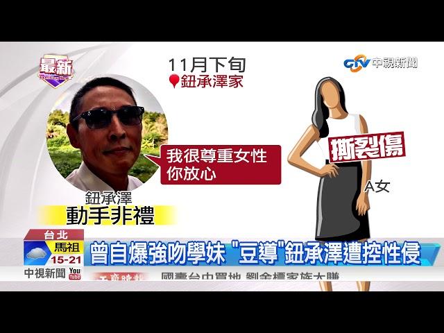 """曾執導""""艋舺"""" 鈕承澤遭控性侵工作人員"""