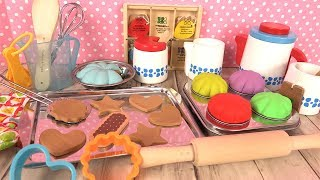 Kitchen Toys Melissa & Doug Cooking Utensils for Kids Wooden Toys Baking Cakes Tea Set