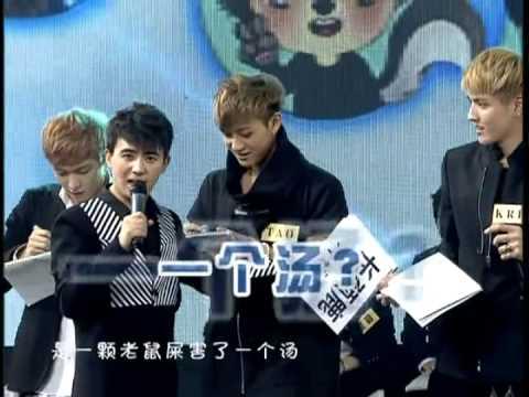 EXO 中國愛大歌會 畫畫接龍