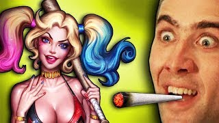Harley Quinn vs Maconheiro - INJUSTICE 2 da ZUEIRA