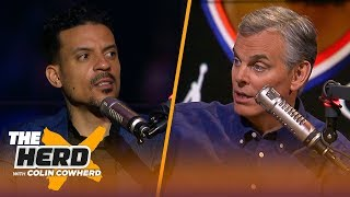 Matt Barnes: Kevin Durant is better than LeBron right now, talks Westbrook & AD | NBA | THE HERD