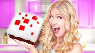 MINECRAFT vs FORTNITE Cake Bake Off Challenge vs PrestonPlayz! (Boy vs Girl)