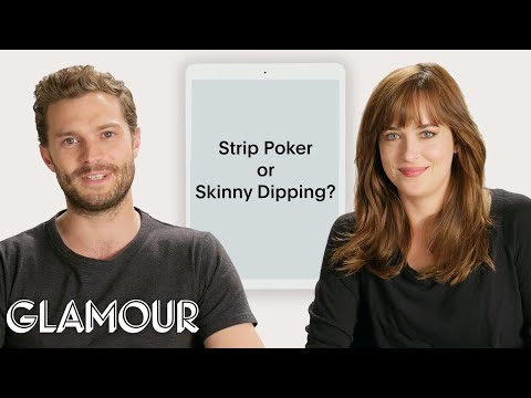 """Confessions from """"Fifty Shades'' Jamie Dornan and Dakota Johnson 