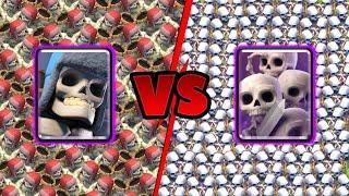 Giant Skeleton Vs Skeleton Army | Clash Royale Challenge #16