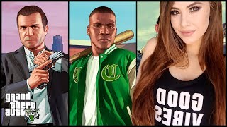 PLAYING GTA 5 STORY MODE FOR THE FIRST TIME!