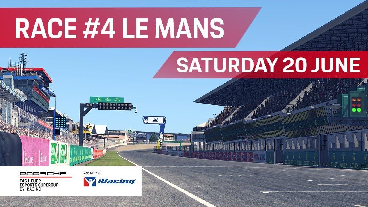 Las dos carreras en el circuito de la Sarthe
