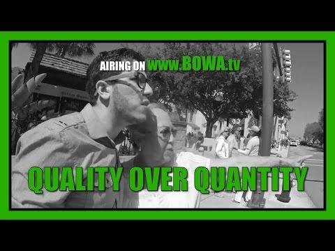 QUALITY OVER QUANTITY (Season 4, Episode 14)