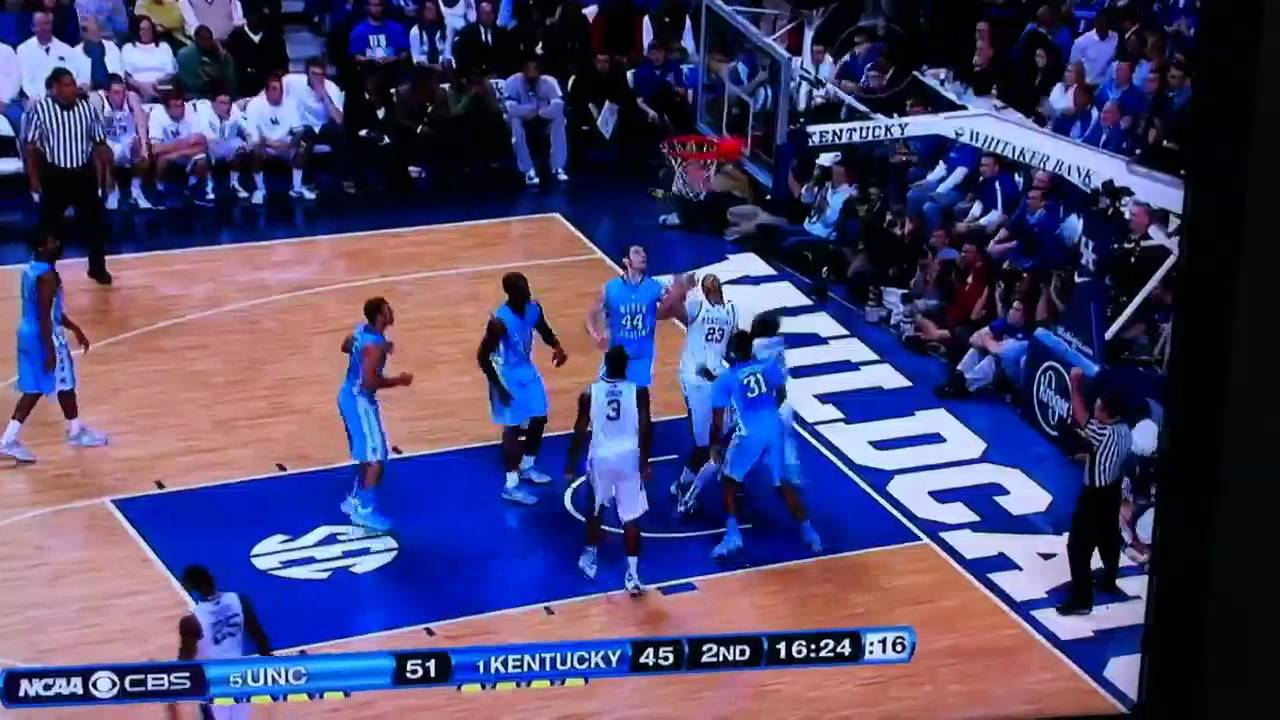 Rupp Arena Rafters Getting Painted Blue: Michael Kidd-Gilchrist Spin Move Layup UK Vs UNC North