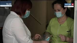 Инфекционная больница, где лечатся больные коронавирусной инфекцией, получила крупную партию защитных костюмов