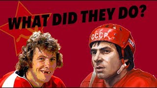 THE FLYERS RED ARMY GAME, THE ROUGHEST, MOST BIZARRE HOCKEY GAME EVER