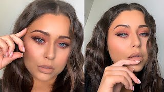 SOFT GLAM MATTE DRUGSTORE MAKEUP TUTORIAL