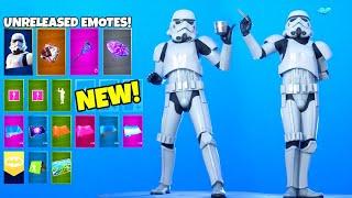 *NEW* LEAKED Emotes With Star Wars STORMTROOPER..! Fortnite Battle Royale